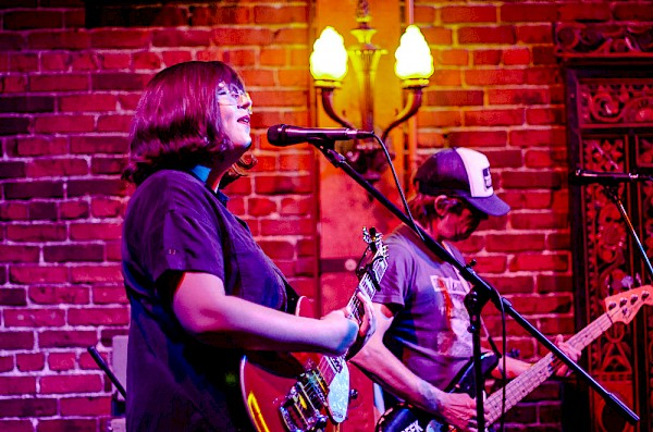Whim at White Eagle Saloon on Nov. 2, 2018—click to see more photos by Anne Barrett