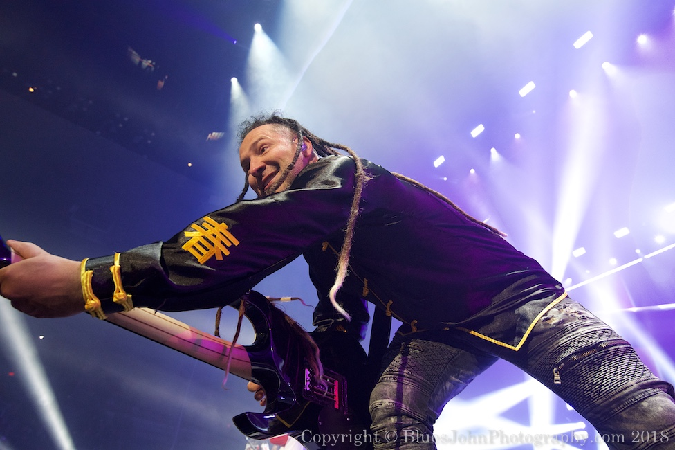Five Finger Death Punch, Veterans Memorial Coliseum, photo by John Alcala