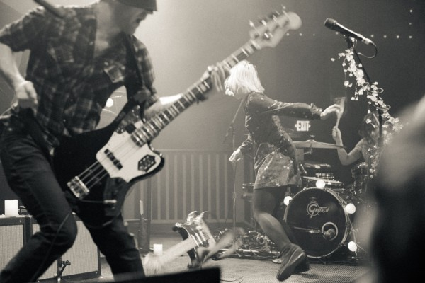 The Joy Formidable: Photo by Justin Kent
