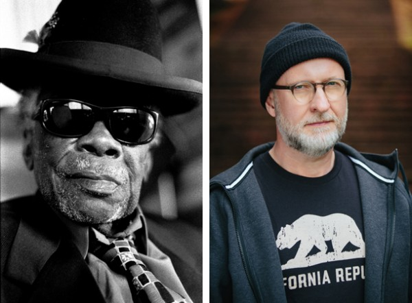 John Lee Hooker: Photo by Peter Ellenby / Bob Mould: Photo by Alicia J. Rose