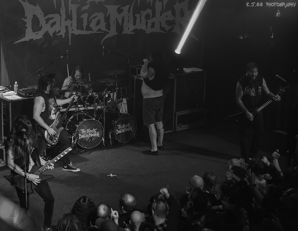 The Black Dahlia Murder, Bossanova Ballroom, photo by Kevin Pettigrew