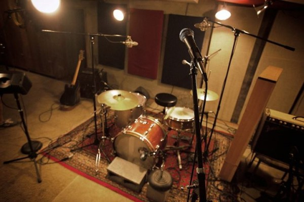 The super-secret lair where the record-making magic happens