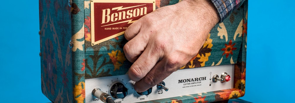 Benson Amps, photo by Sam Gehrke